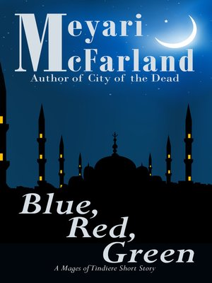 cover image of Blue, Red, Green
